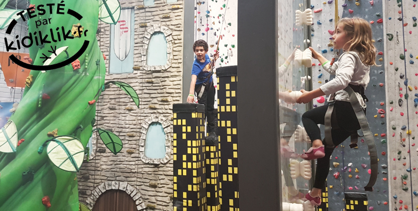 CLIMB'UP // Escalade, accrobranche et mini-golf // Saran